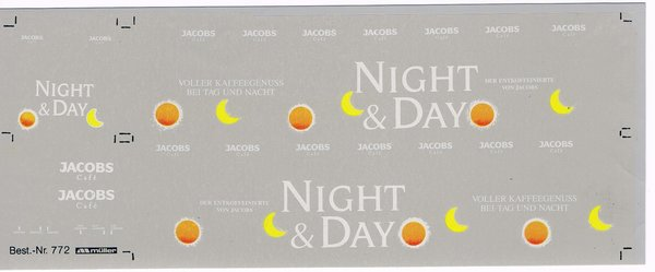 1508772 - Jacobs Night & Day, Busbeschriftung